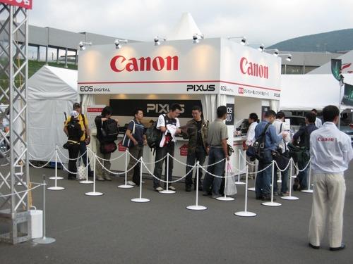 Canonブース
