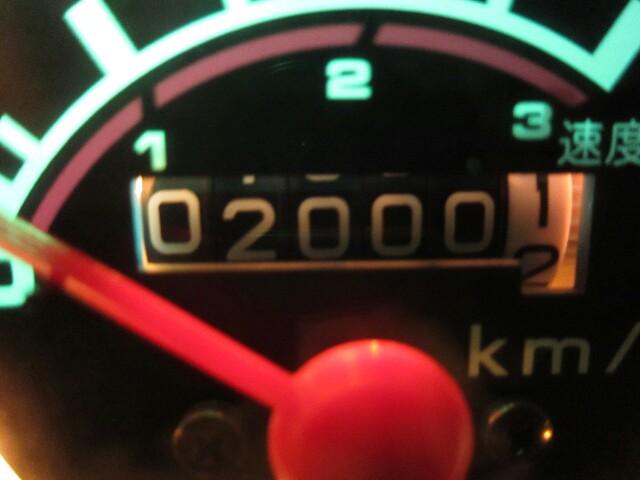【Cub 】2000km